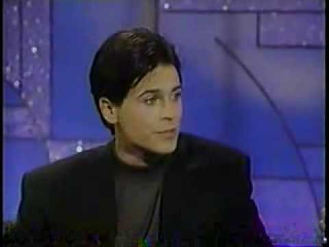 Rob Lowe @ The Arsenio Hall Show 1990