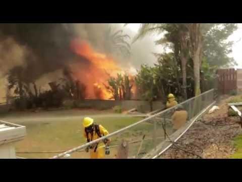 Flares-Ups Keep San Diego Fires Dangerous