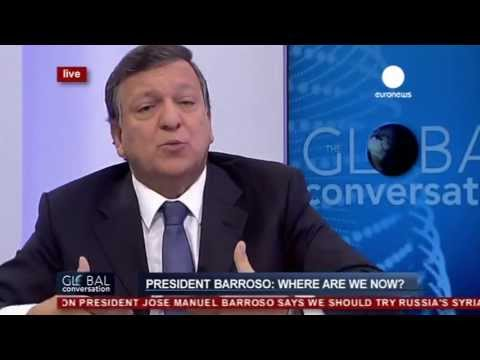 José Manuel Barroso on the Global Conversation (recorded live version)