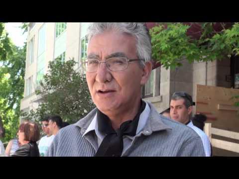 Sit-in silencieux devant le consulat du Maroc à Montréal