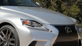 2014 Lexus IS Review And Track Test (IS 250, IS 350 And F