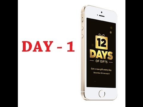 12 Days of Gifts (Day 1)