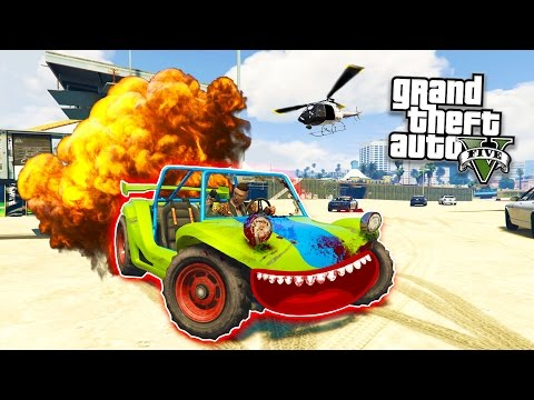 THE ADVENTURES OF ROD! (GTA 5 Funny Moments)