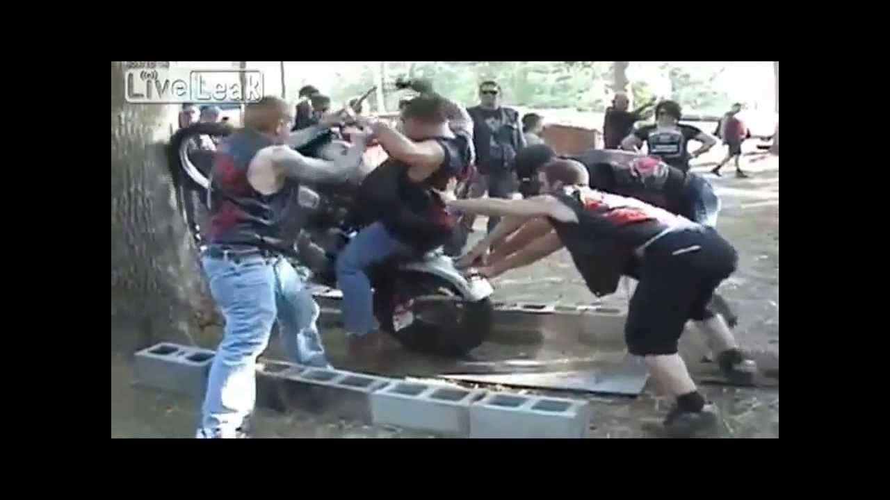 hells angels and mongols fight