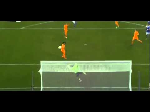 Klaas Jan Huntelaar Amazing Goal - Schalke vs Real Madrid 1-6  Champions League  HD