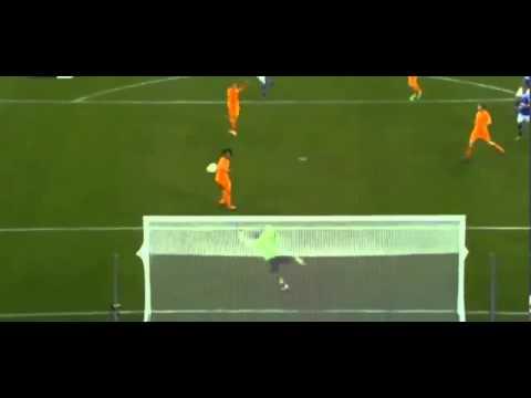 Klaas Jan Huntelaar Amazing Goal - Schalke vs Real Madrid 1-6  Champions League  HD