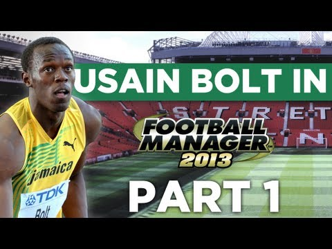 Usain Bolt in Football Manager - FM Experiment
