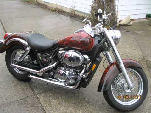 Pure Hell Custom Airbrushed Motorcycle Paint Job by Chinnies Custom Airbrushing!!.wmv