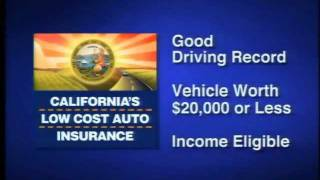 Low Cost Auto Insurance >> California S Low Cost Automobile Insurance Program Youtube