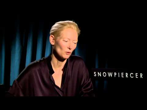 Snowpiercer: Exclusive Interview with Tilda Swinton