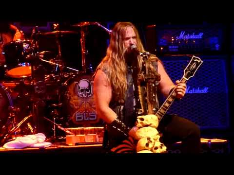 Black Label Society 'Funeral Bell' live at La Cigale, Paris France - 25/02/2011