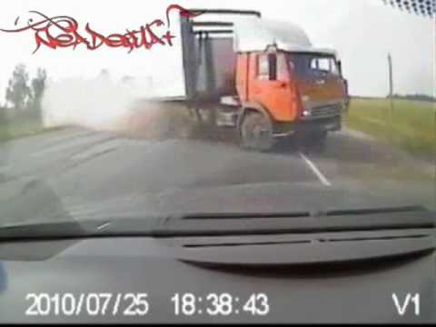 HEAD ON CAR CRASH RUSSIA