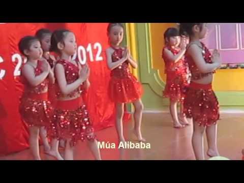 Thiếu nhi múa hát bài Alibaba (remix)