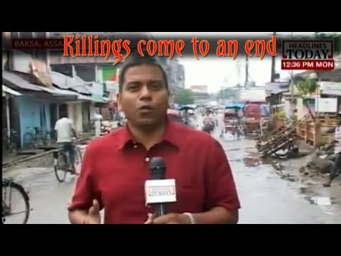 Assam: No violence in last 36 hours
