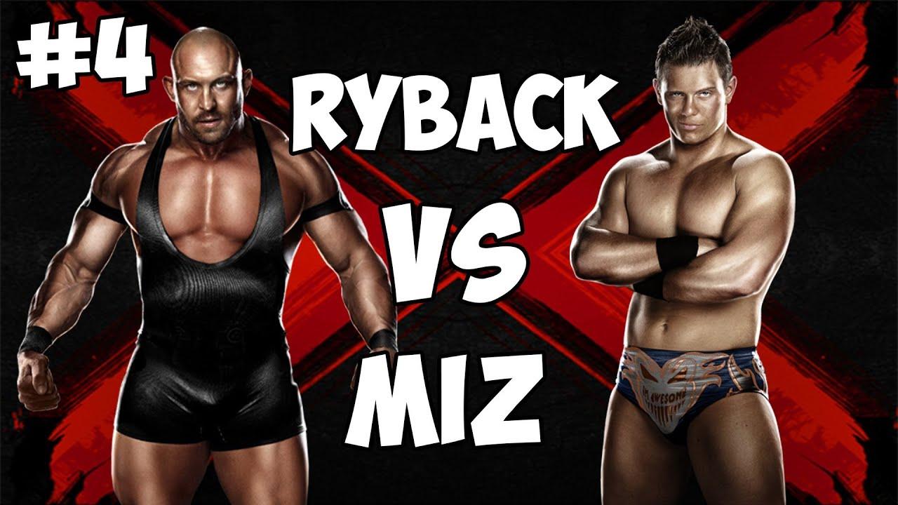 Ryback Vs The Miz