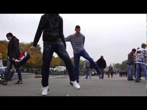 los mejores bailes en grupo del mundo.wmv