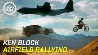 Vid�o Ken Block airfield rallying - Top Gear - BBC par TopGear (4438 vues)