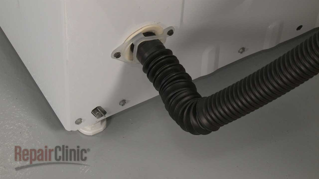 Washer Drain Hose Replacement Ge Top Load Washing