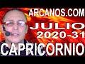 Video Horóscopo Semanal CAPRICORNIO  del 26 Julio al 1 Agosto 2020 (Semana 2020-31) (Lectura del Tarot)