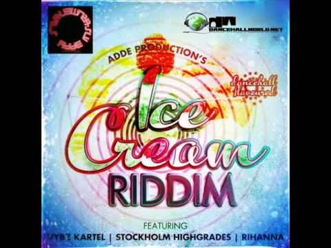 ICE CREAM RIDDIM MIX ( NEW JAN 2012 ) #NRD!