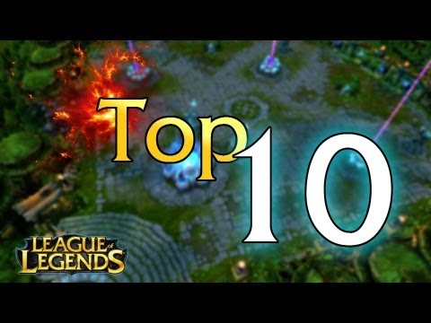 Top 10 - Rarest LoL Skins