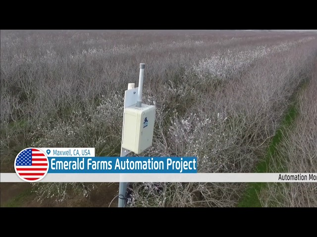 Emerald Farms Automation Project in Maxwell, CA, USA – Irrigation Project
