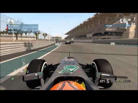 Atomic Sim Racing F1 S8 Abu Dhabi GP1