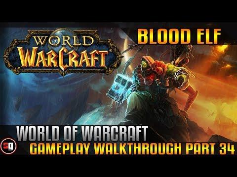World Of Warcraft Walkthrough Part 34 - Shadowpine Spiders