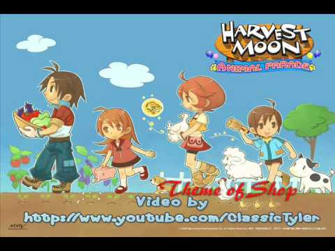 Harvest Moon: Animal Parade 25- Theme of Shop