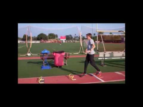 Triple Jump Tips - Hop timing drill