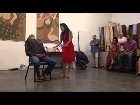 Rajiv Nema and Neha Goyal audition for Naatak's God of Carnage