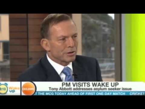 Tony Abbott talks about asylum seekers on Wake Up show 10/1/2014