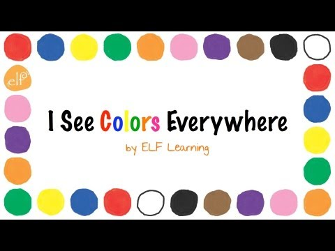 Colors Song - I See Colors Everywhere (CD Version)