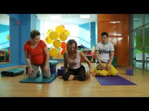 Видеогид. 22 неделя. Йога для беременных