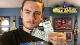 Buying WrestleMania 34 Tickets - My Experience