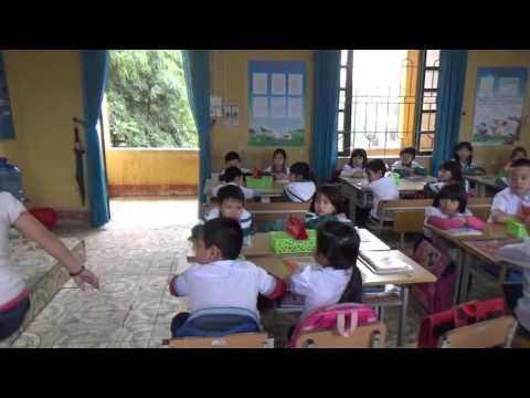 Trích đoạn phầm khởi động tiết dạy VNEN lớp 2