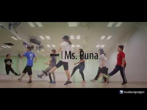 HIPHOP Học nhảy hiphop dance cùng Ms. Puna