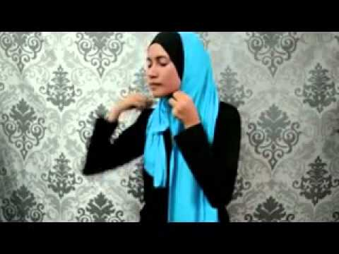 Tutorial Hijab Paris New Style pART 2