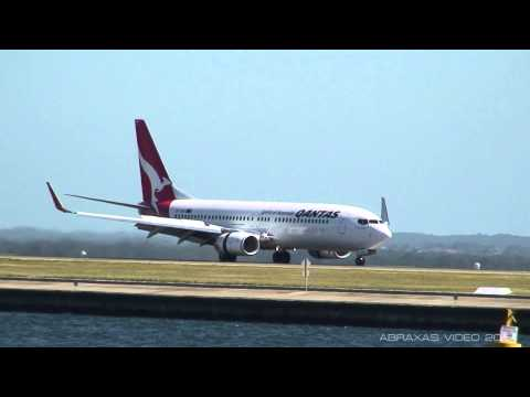 Qantas 737-838 [ZK-ZQD] - Landing at Sydney - 19 October 2011