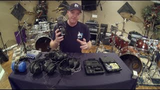 Drummer Headphones, Hearing Protection And In-Ear Monitor