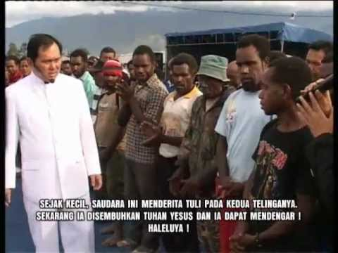mujizat tuli sejak kecil, sekarang mendengar ! - Wamena, Papua - Indonesia (Rev. Yosafat, MBA)