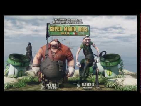 Super Mario Brothers на движке Unreal Engine 3