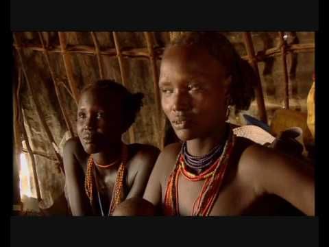 African Tribe: the Dassanech tribe who hunt crocs pt1
