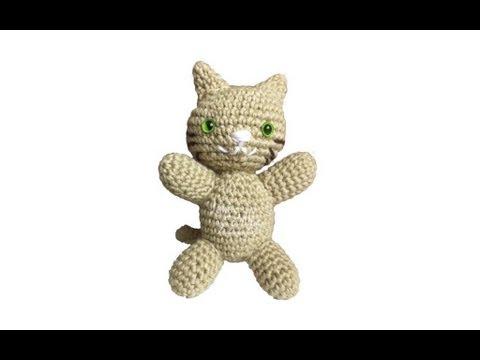 Tutorial Gato Amigurumi Paso A Paso En Espanol : Tutorial Gato Amigurumi Cat (English subtitles) - YouTube