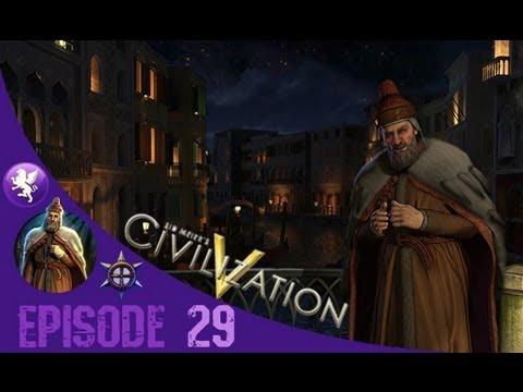 Civilization 5 Brave New World Gameplay: Venice Playthrough Episode 29: Upgrading my Army