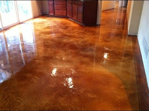 Should I Acid Wash My Concrete Floor Before I Paint