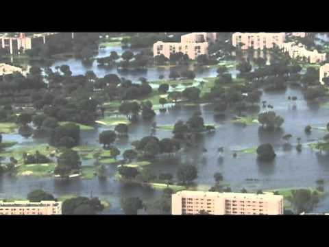 Raw: Heavy Rains Cause South Florida Flooding
