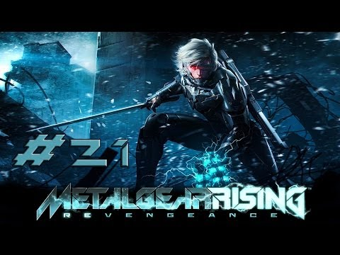 [HD] Metal Gear Rising Revengeance Part 21 (no commentary)