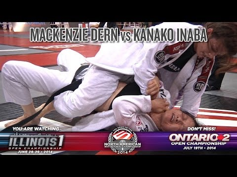 FIVE Grappling Illinois 1: Mackenzie Dern vs Kanako Inaba (Women / LW / Black Belt / Final)
