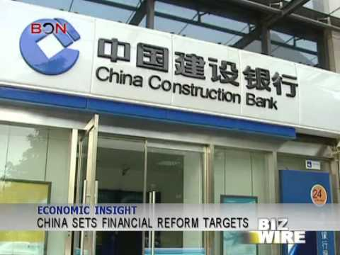 China sets financial reform targets - Biz Wire - March 10,2014 - BONTV China